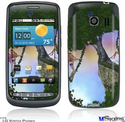 LG Vortex Skin - Kathy Gold - Summer Time Fun 1