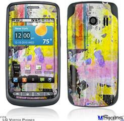 LG Vortex Skin - Graffiti Pop