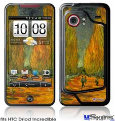 HTC Droid Incredible Skin - Vincent Van Gogh Alyscamps