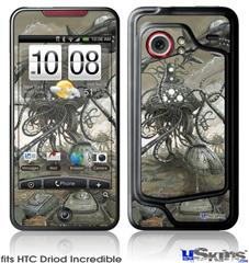 HTC Droid Incredible Skin - Mankind Has No Time