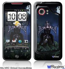 HTC Droid Incredible Skin - Kathy Gold - Bad To The Bone 1