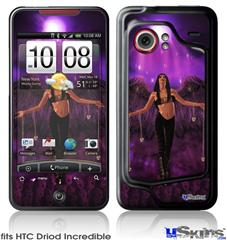 HTC Droid Incredible Skin - Kathy Gold - Goth Angel 1