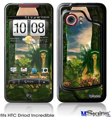 HTC Droid Incredible Skin - Kathy Gold - Recharging Fairy 1