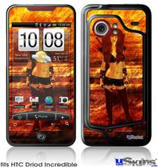 HTC Droid Incredible Skin - Kathy Gold - Scifi 2