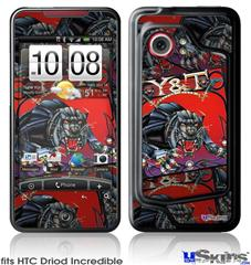 HTC Droid Incredible Skin - Y&T Black Tiger Covers