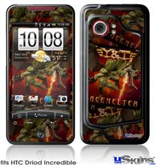 HTC Droid Incredible Skin - Y&T Facemelter Covers
