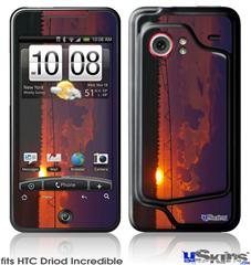 HTC Droid Incredible Skin - South GA Sunset