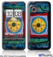 HTC Droid Incredible Skin - Tie Dye Circles and Squares 101