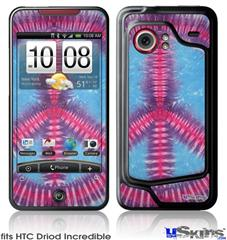 HTC Droid Incredible Skin - Tie Dye Peace Sign 100