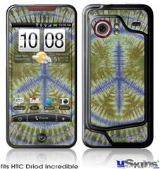 HTC Droid Incredible Skin - Tie Dye Peace Sign 102