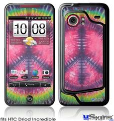HTC Droid Incredible Skin - Tie Dye Peace Sign 103