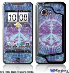 HTC Droid Incredible Skin - Tie Dye Peace Sign 106