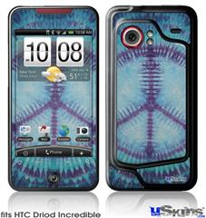 HTC Droid Incredible Skin - Tie Dye Peace Sign 107