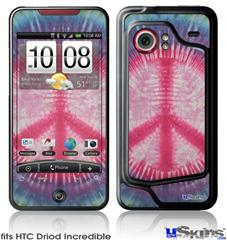 HTC Droid Incredible Skin - Tie Dye Peace Sign 108