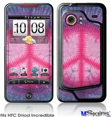 HTC Droid Incredible Skin - Tie Dye Peace Sign 110