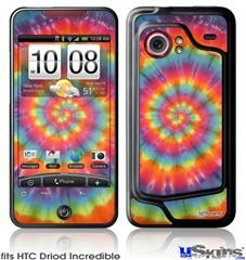 HTC Droid Incredible Skin - Tie Dye Swirl 102