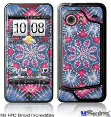 HTC Droid Incredible Skin - Tie Dye Star 102