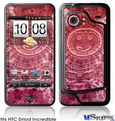 HTC Droid Incredible Skin - Tie Dye Happy 102