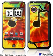 HTC Droid Incredible Skin - Tie Dye Music Note 100
