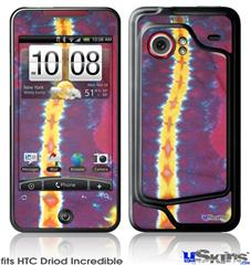 HTC Droid Incredible Skin - Tie Dye Spine 105