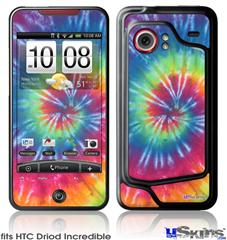 HTC Droid Incredible Skin - Tie Dye Swirl 104