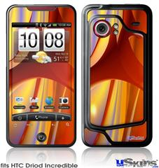 HTC Droid Incredible Skin - Red Planet