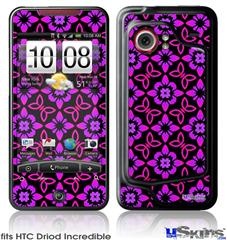 HTC Droid Incredible Skin - Pink Floral