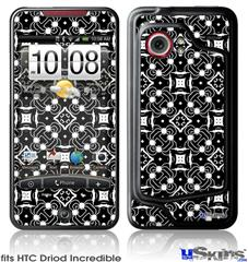 HTC Droid Incredible Skin - Spiders