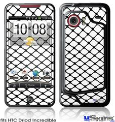 HTC Droid Incredible Skin - Fishnets
