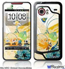 HTC Droid Incredible Skin - Water Butterflies