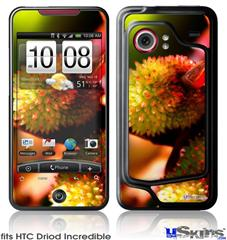 HTC Droid Incredible Skin - Budding Flowers