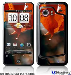 HTC Droid Incredible Skin - Fall Oranges