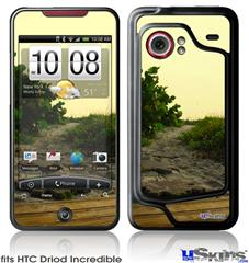HTC Droid Incredible Skin - Paths