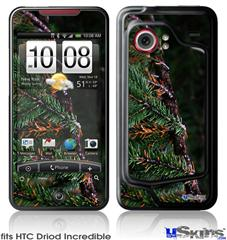 HTC Droid Incredible Skin - Woodland