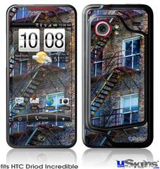 HTC Droid Incredible Skin - Stairs