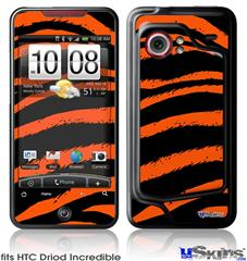 HTC Droid Incredible Skin - Zebra Orange