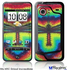 HTC Droid Incredible Skin - Tie Dye Dragonfly
