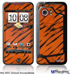 HTC Droid Incredible Skin - Tie Dye Bengal Belly Stripes