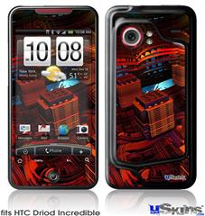HTC Droid Incredible Skin - Reactor