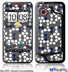 HTC Droid Incredible Skin - Locknodes 04 Navy Blue