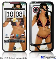 HTC Droid Incredible Skin - Lilly Ruiz - Pokadot Bikini 3