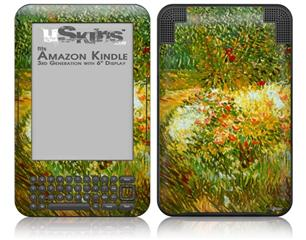 Vincent Van Gogh Asnieres - Decal Style Skin fits Amazon Kindle 3 Keyboard (with 6 inch display)