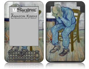 Vincent Van Gogh At Eternitys Gate - Decal Style Skin fits Amazon Kindle 3 Keyboard (with 6 inch display)