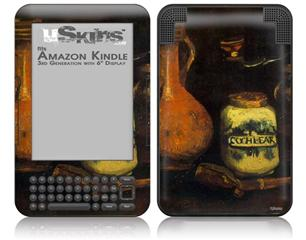 Vincent Van Gogh Coffee Mill - Decal Style Skin fits Amazon Kindle 3 Keyboard (with 6 inch display)