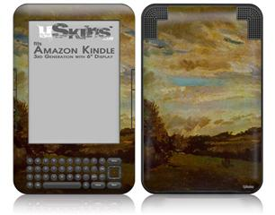Vincent Van Gogh Dunes - Decal Style Skin fits Amazon Kindle 3 Keyboard (with 6 inch display)