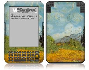 Vincent Van Gogh Haute Gafille - Decal Style Skin fits Amazon Kindle 3 Keyboard (with 6 inch display)