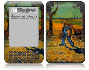 Vincent Van Gogh Painter - Decal Style Skin fits Amazon Kindle 3 Keyboard (with 6 inch display)