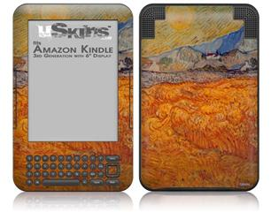 Vincent Van Gogh Reaper - Decal Style Skin fits Amazon Kindle 3 Keyboard (with 6 inch display)