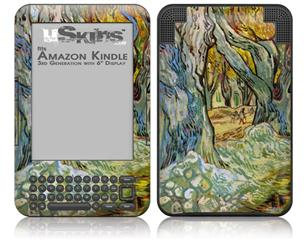 Vincent Van Gogh Roadman - Decal Style Skin fits Amazon Kindle 3 Keyboard (with 6 inch display)