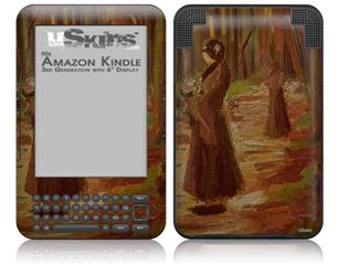 Vincent Van Gogh Two Women - Decal Style Skin fits Amazon Kindle 3 Keyboard (with 6 inch display)